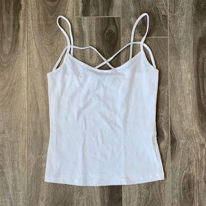 Women's Charlotte Russe tank top - white